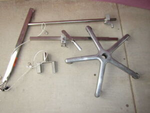 used acufex 012320 shoulder holder table accessories for