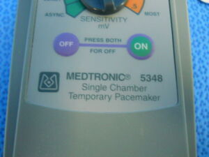 Used MEDTRONIC 5348 Temporary Pacemaker For Sale - DOTmed Listing ...