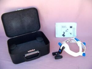 Used Carl Zeiss 4 5x 350 Amp Headset Loupes For Sale