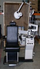 BURTON 2001 Chair & Stand Ophthalmology Chair and Stand for sale