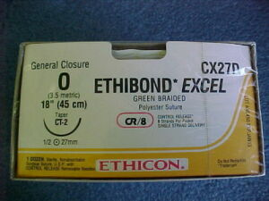 ETHICON ETHIBOND EXCEL CX27D Sutures for sale