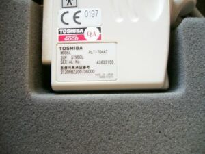 TOSHIBA plt 704 at Ultrasound Transducer for sale