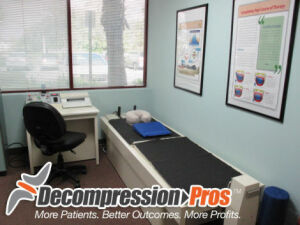 Used Vax D Lumbar Cervical Chiropractic Table For Sale