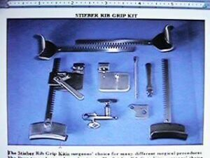 AUTOMATED MEDICAL PRODUCTS STIEBER RIB GRIP O/R Instruments for sale