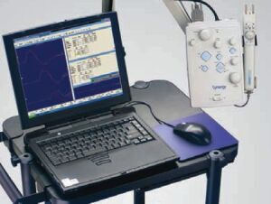 TECA Synergy Notebook N2 EMG Unit for sale
