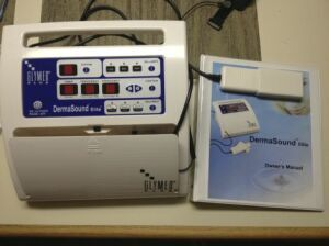 Used Glymed Dermasound Ultrasoni Electrolysis Machine For