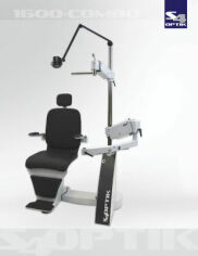 S4OPTIK 1600 Exam Lane Package Ophthalmology Chair and Stand for sale