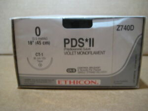 ETHICON PDS II Z740D Sutures for sale