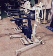 Used Medcare Sit To Stand 400002 Patient Lift For Sale