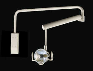 MIDMARK Cabinet Mount Halogen Operatory Light Dental Lamp for sale