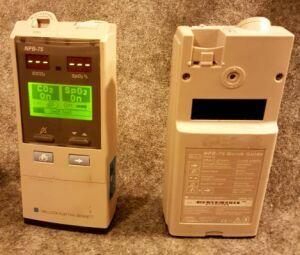 NELLCOR NPB-75 Mainstream Capnograph SPO2 Co2 Monitor for sale
