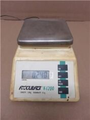 ACCULAB V-1200 Digital 1200g Capacity w/ Power Supply Scale for sale
