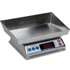 DETECTO Stainless Steel Wet Diaper Scale for sale