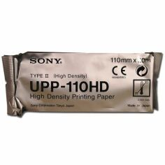 SONY UPP-110HD High Density Printing Paper (10 Rolls/Case) Printer Paper for sale