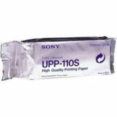 SONY UPP-110S High Quality Printing Paper (10 Rolls/Case) Printer Paper for sale