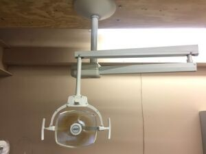 MARUS LexStar Ceiling Mount Dental Lamp for sale