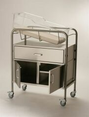 NK MEDICAL NB-SSxDC Bassinet with Drawer and Cabinet Crib for sale