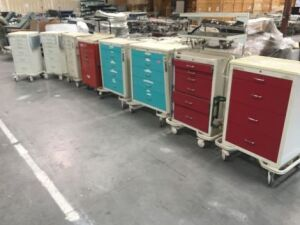 WATERLOO Mixed Emergency Cart for sale