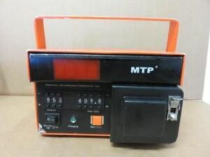 MEDICAL TECHNOLOGY PRODUCTS Transport  Pump MTP 1001 (C) Pump IV Infusion for sale