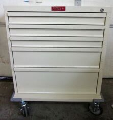 HARLOFF 5 Drawer Cart Cabinetry - Furnishings for sale