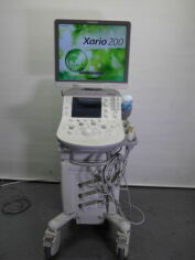 TOSHIBA xario 200 Cardiac - Vascular Ultrasound for sale