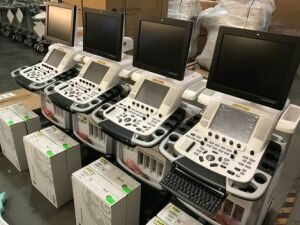 GE Vivid E9 Shared Service Ultrasound for sale