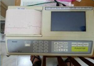 KENZ Cardico 302 ECG unit for sale