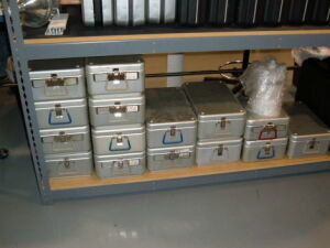 AMSCO various cases with filters Surgical Cases for sale