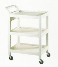 Plastic Utility Cart Treatment Cabinet for sale