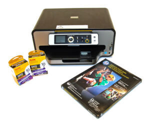 KODAK ESP 7250 All-In-One Printer w/Power Cord, Photo Paper, and Ink Printer for sale