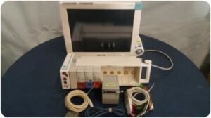 PHILIPS Patient Monitor W/ Modules & M8048A Module Rack Anesthesia Monitor for sale
