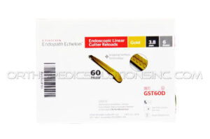 COVIDIEN 60 Reloads: 3.8MM, 6 Row Gold - Box of 12 Disposables - General for sale