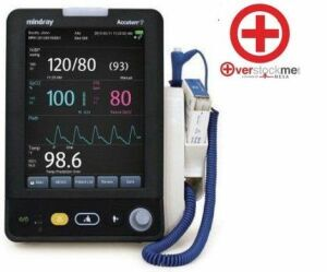 MINDRAY Accutorr 7 Vital Signs Monitor with Masimo Bedside Monitor for sale