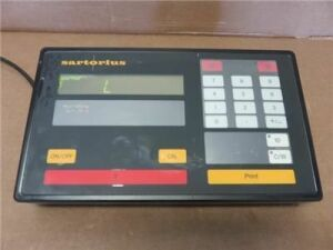 SARTORIUS F300S Digital Scale Display 300kg *Parts* Scale for sale
