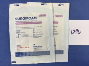 ETHICON 1972 Surgifoam Disposables - General for sale