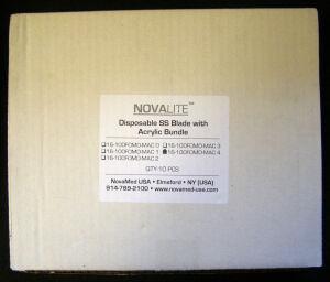 NOVAMED 16-100FOMD-MAC 4 Scalpels and Blades for sale