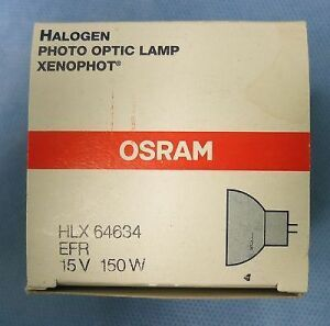 OSRAM 64634 EFR Halogen Photo Optic Lamp Medical Bulbs for sale