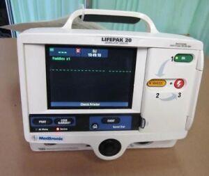 PHYSIO-CONTROL Lifepak 20 Biphasic Defibrillator for sale