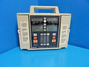 BAXTER Flo Gard 6301 Volumetric ,Dual Channel~ Pump IV Infusion for sale