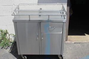 Pedigo Hospital Bassinet Stainless Steel Crib for sale