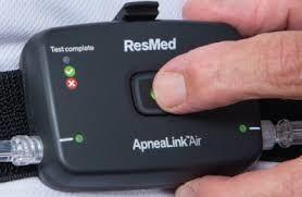 RESMED ApneaLink Air HST Home Sleep Screening Device for sale