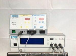 ERBE ICC 200/ APC 300 Electrosurgical Unit for sale