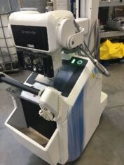 GE BRIVO XR285AMX ANALOG MOBILE X-RAY SYSTEM(MAYBE NEED NEW BATTERY ) Portable X-Ray for sale