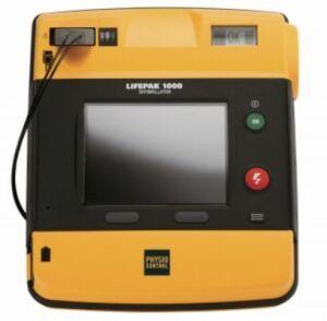 PHYSIO-CONTROL LifePak 1000 with ECG Display Defibrillator for sale
