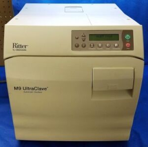 MIDMARK RITTER M9 UltraClave M9-022 Cycle Count 602 Autoclave Tabletop for sale