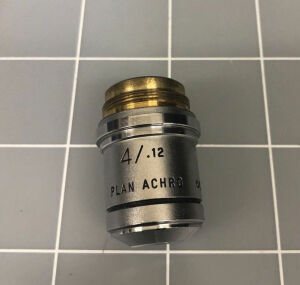 AMERICAN OPTICAL Plan Achro 4x/.12 Infinity Microscope Microscope Accessories for sale