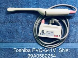 TOSHIBA PVQ-641V Ultrasound Transducer for sale