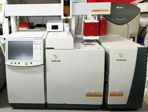 VARIAN 450-GC, 225-MS , PAL Autosampler Gas Chromatograph for sale