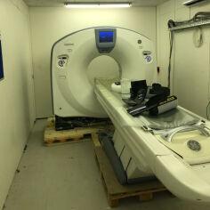 GE Optima 660 64 slice CT Scanner for sale