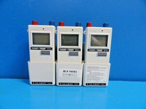 ALARIS 3 x  IVAC 2185BX01EE Turbo Temp   W/ Wall Mount No Probes~ Thermometer for sale